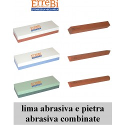 abrasive file and combined abrasive stone