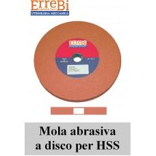 mole a disco colore ROSSO MARRONE affilatura utensili un HSS