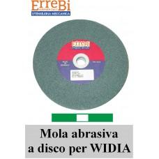 mole a disco colore VERDE affilatura utensili in WIDIA metallo duro