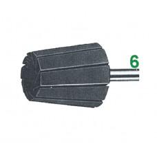 supporto per anelli CONICI in tela abrasiva