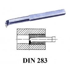 utensile DIN 283 filettatura interna