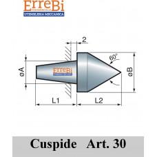 cuspide intercambiabile per contropunte modello 30A