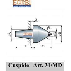 cuspide intercambiabile per contropunte modello 31/MD