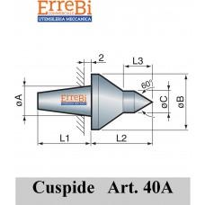 cuspide intercambiabile per contropunte modello 40A