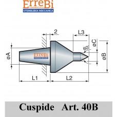 cuspide intercambiabile per contropunte modello 40B
