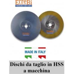 machine HSS cutting discs