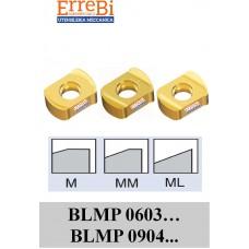 inserto bilaterale FORTE AVANZAMENTO BLMP 0603... BLMP 0904... rompitruciolo M-MM-ML