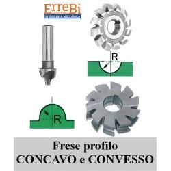 frese profilo CONCAVO/CONVESSO