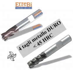 milling carbide 4 cuts