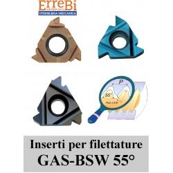 thread inserts pitch GAS-BSW-BSF-BSP-BSB