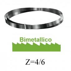 lama a nastro BIMETALLICA HSS+8%Co H=27 dentatura 4/6
