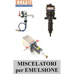 MIXERS FOR EMULSIONS