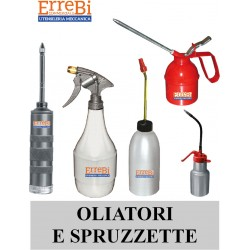 oilers, sprayers and syringes