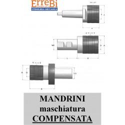 mandrini C.M. - WE - VDI maschiatura COMPENSATA