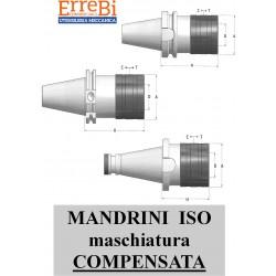 mandrini ISO maschiatura COMPENSATA