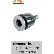 PIGNONE ricambio per autocentranti in ghisa GUIDA SEMPLICE serie PRECISA