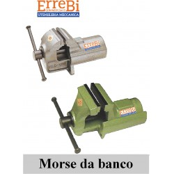 Bench vice in steel and cast iron