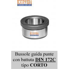 bussola guida punte con battuta tipo CORTO DIN 179/C