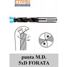 punta M.D. 5xD FORATA GAMBO RINFORZATO