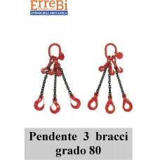 pendente ad 2 tratto di catena