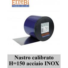 spessimetro calibrato in ACCIAIO INOX H=150mm