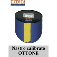 spessimetro calibrato in OTTONE H=150mm