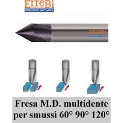 frese M.d. multitagliente per SMUSSI 60° - 90° -  120°