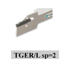 utensile INTEGRALE  tornitura e scanalatura PROFONDA sp=2