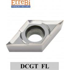 DCGT 0702 .... FL DCGT 11T3 ... FL lapped for non-ferrous materials