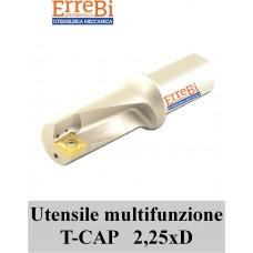 TCAP sistema multifunzionale di tornitura 2,25xD